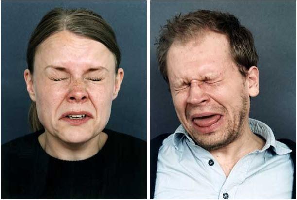 Fotos de personas cuando están en la mitad de un estornudo