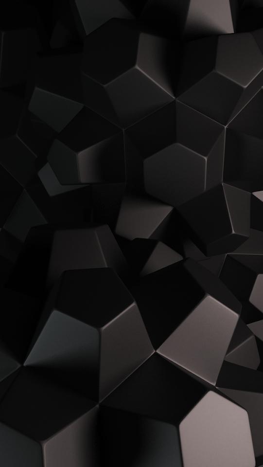 Abstract 3D Hexagons  Galaxy Note HD Wallpaper