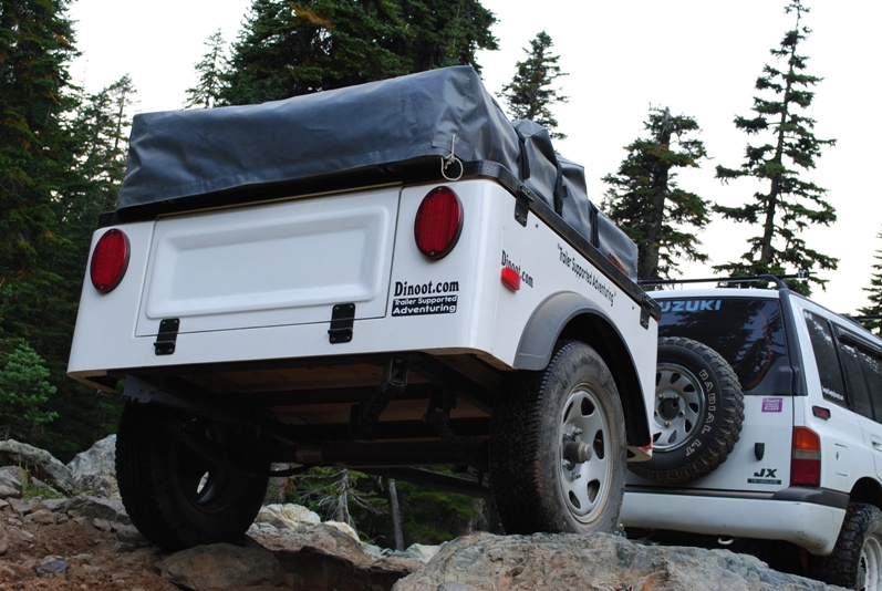 Dinoot Trailer Jeep style lightweight Trailer