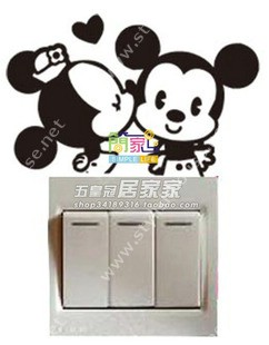 Micky mouse stickers for bedroom walls