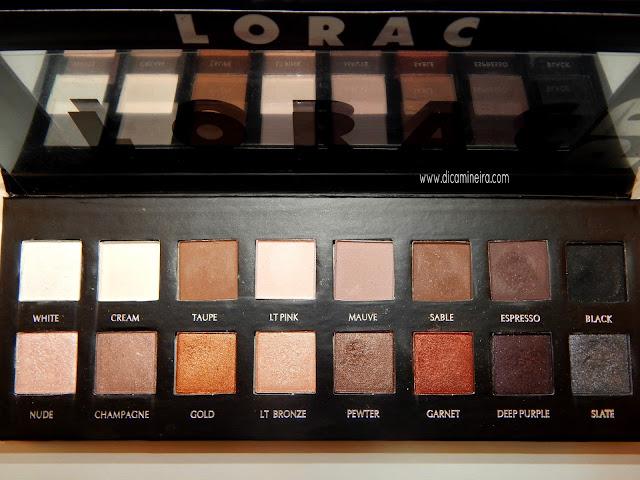 Tutorial - Usando a Paleta Lorac PRO