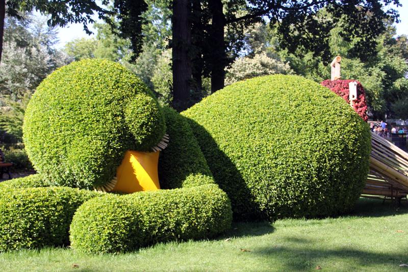 Voyage Nantes Jardin Déjanté Claude Ponti tourisme culture art