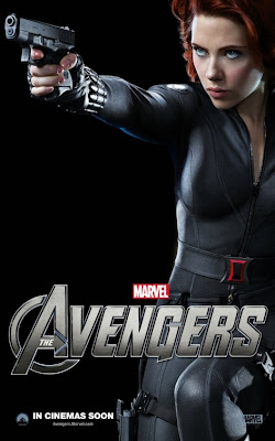 The Avengers Character One Sheet Movie Poster Set 2 - Scarlett Johansson as Black Widow