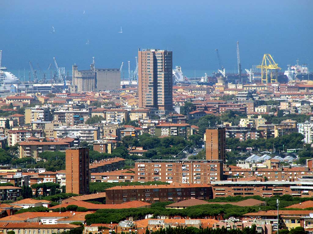 linea di sezione grattacieli italiani