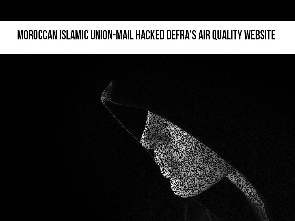 Islamic Hackers Hacked Defra's Air Quality Website