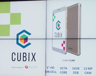 CUBIX CUBE Launched, 5-inch HD Octa Core 2GB RAM for Php4,490