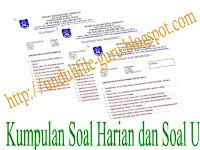 Unduh File Kumpulan Soal UTS dan Soal Harian Untuk Kelas V Sekolah Dasar ( SD )