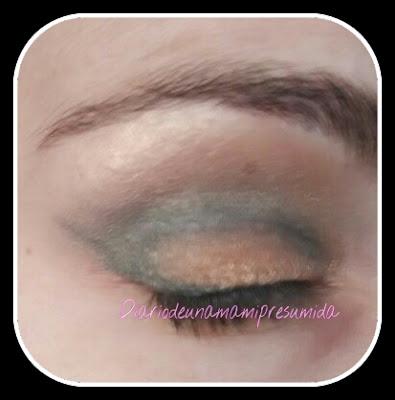 sombra de ojos verde effect de colourpop