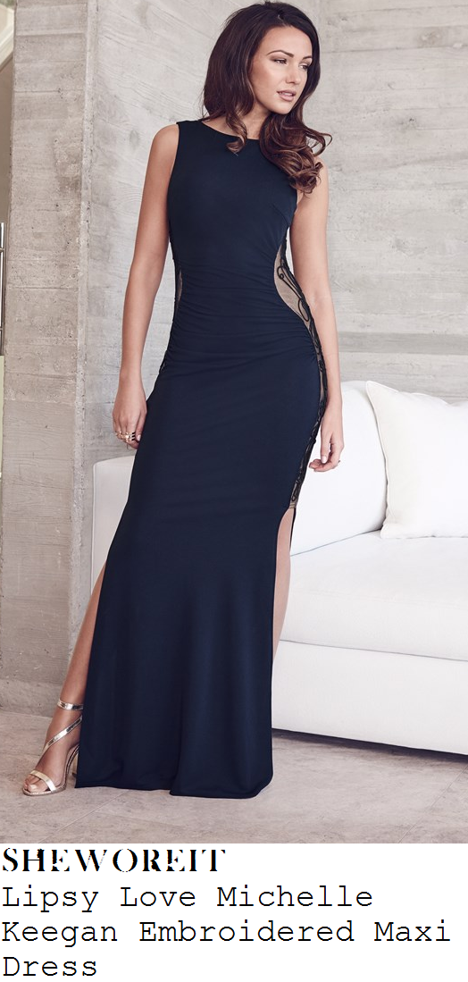 michelle-keegan-navy-blue-sleeveless-embroidered-panel-side-split-maxi-dress-mirror-ball