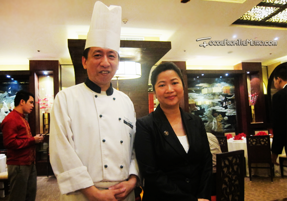 Foodie from the Metro - Mabuhay Palace Vegetarian Menu Chef Sous