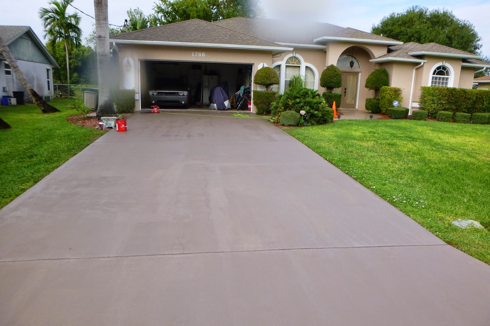 Painting artists corp painting company port st lucie fl for New driveway ideas
