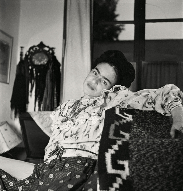 photographie & portrait de Frida kahlo