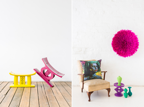 Safari Fusion blog | Tickled pink | Safari Fusion's range of bright African pink decor pieces for your home