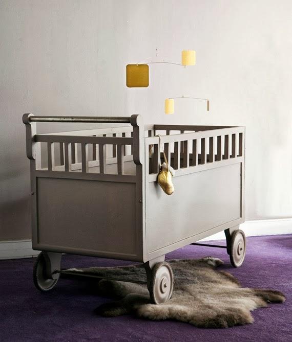 quarto do bebê - opções de berço - tinta spray - berço customizado - como usar cinza na decoração