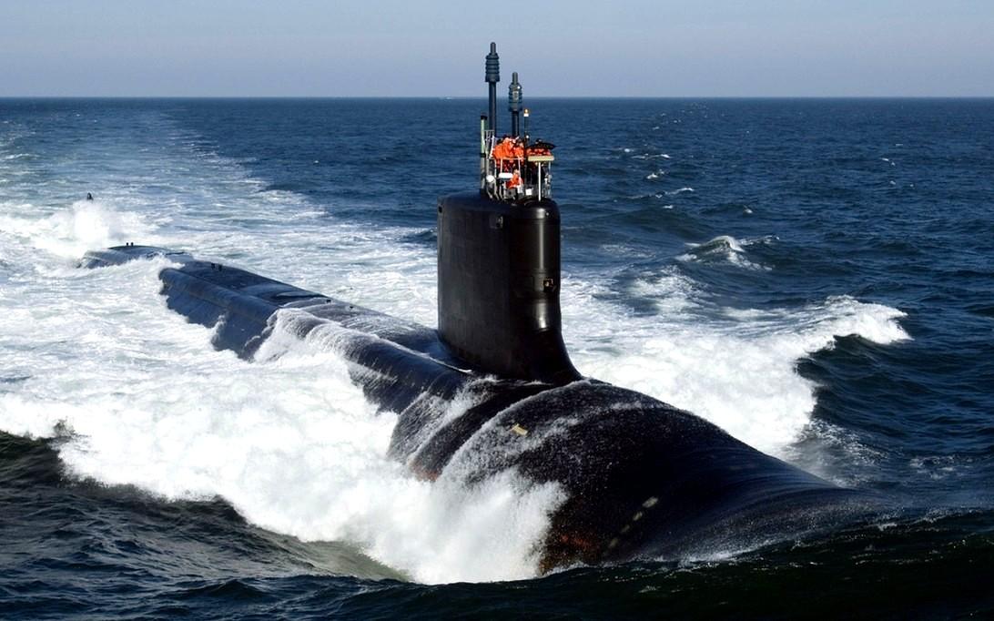 USS Virginia (SSN-774) Submarine Wallpaper 1