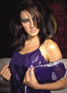 Pakistani models Saba Qamar