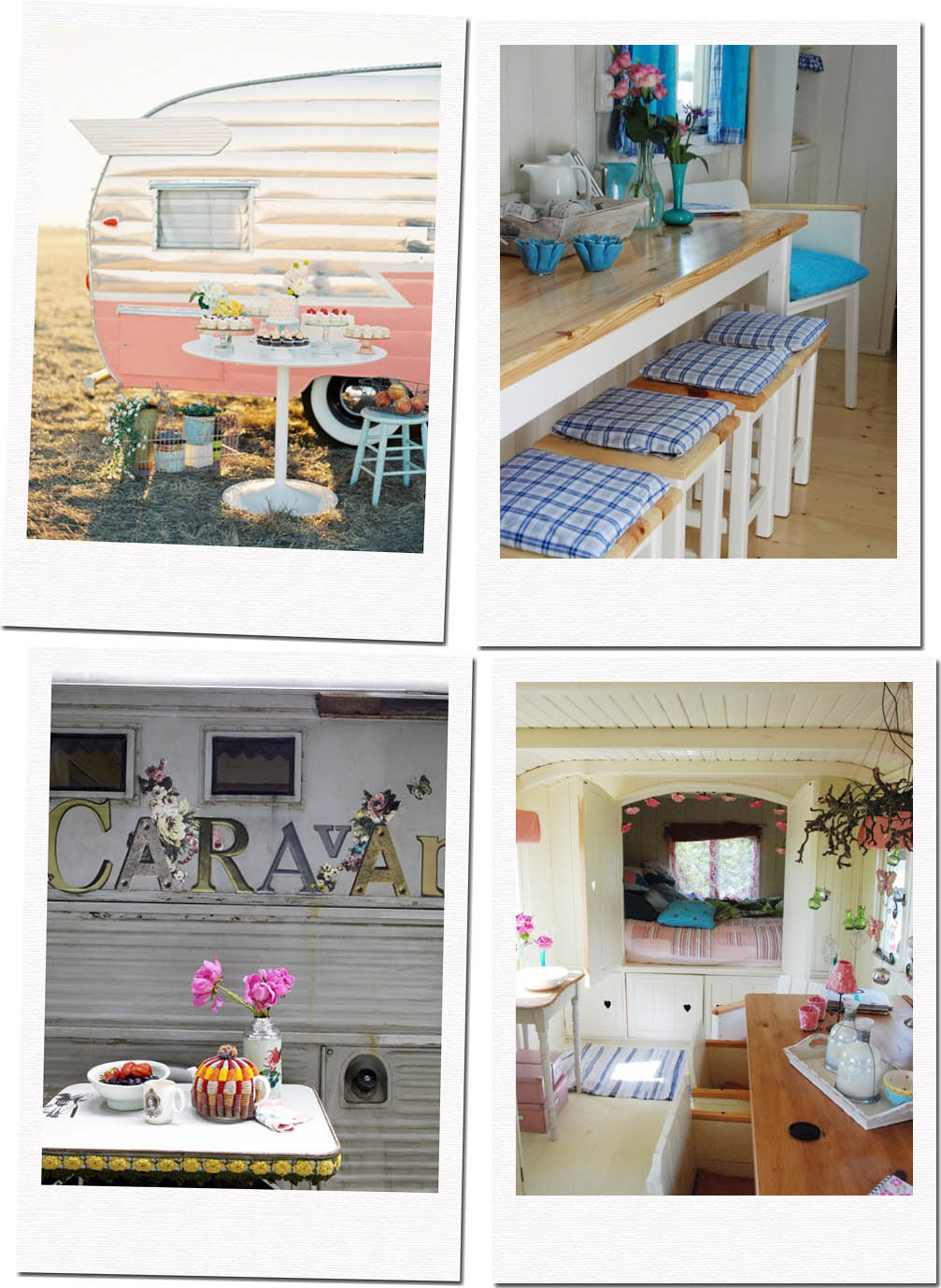 Camper o Roulotte - Shabby Chic Interiors