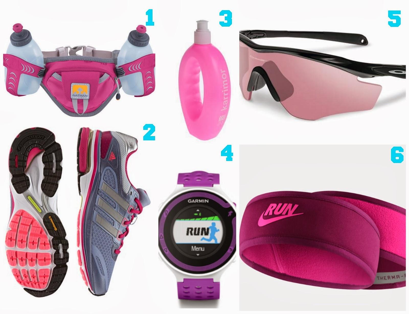 Pink Running Gear