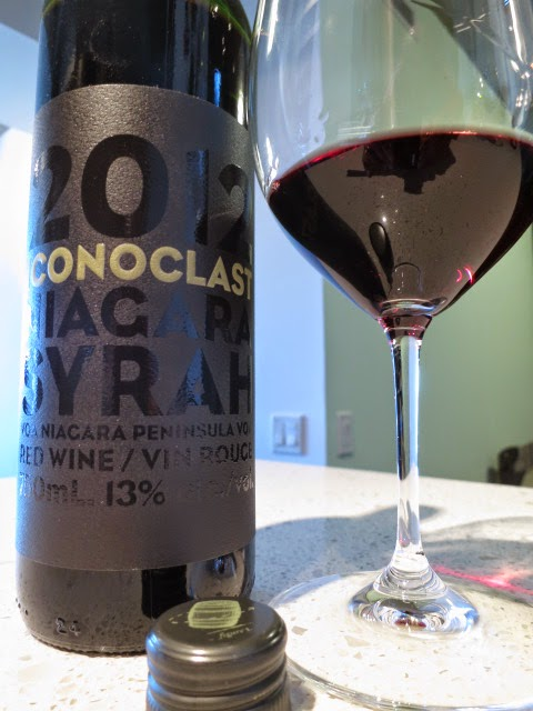 Wine Review of 2012 Creekside Iconoclast Niagara Syrah from VQA Niagara Peninsula, Ontario, Canada (89 pts)