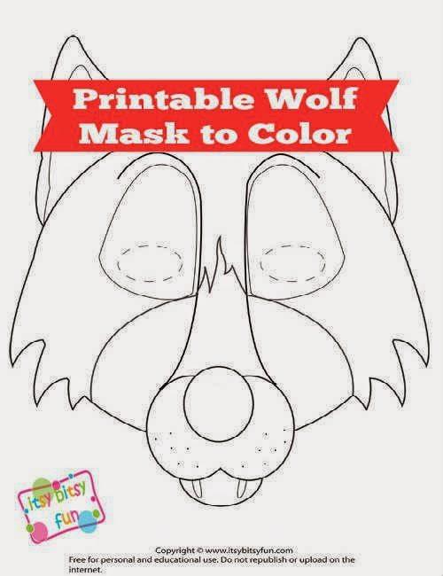 Ondeugende Spruit Wolf Inspiratie DIY Masker