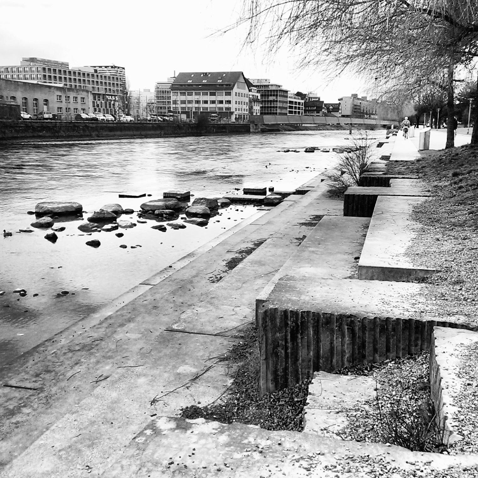 Zürich Schweiz Limmat Wasser Fluss