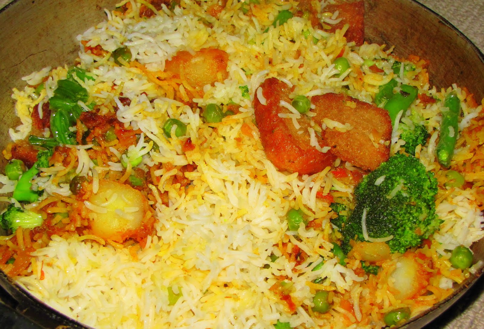 Vegetable Biryani ~ Food Fun Freak