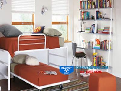 Nên dùng giường tầng sắt hay gỗ?