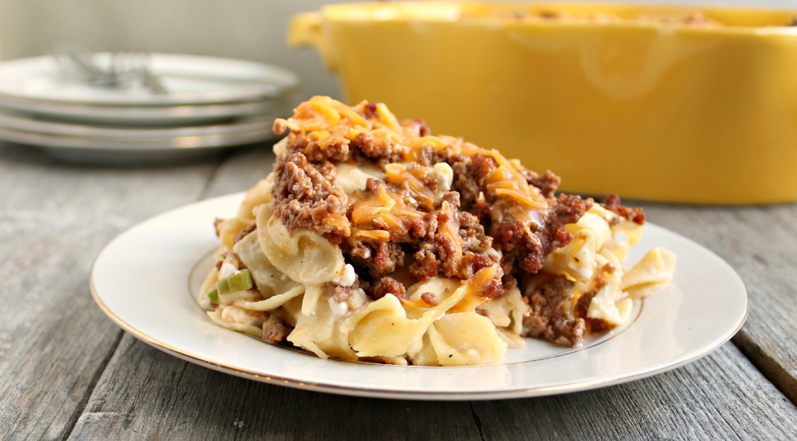 Hungry Couple: Sour Cream Noodle Bake