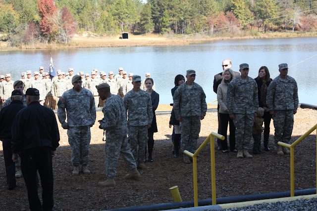 Ranger school award ceremony