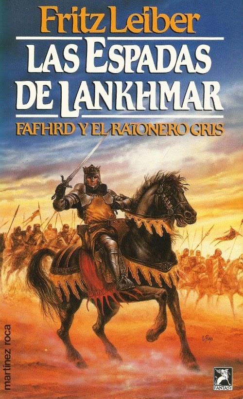 25-Las espadas de Lankhmar-Fritz Leiber-Portada
