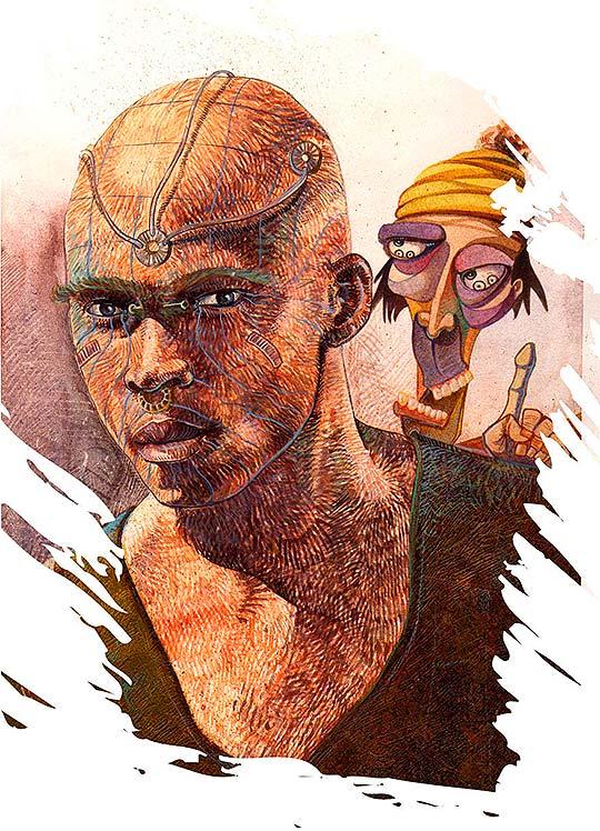 Ilustración de Erik Riveros