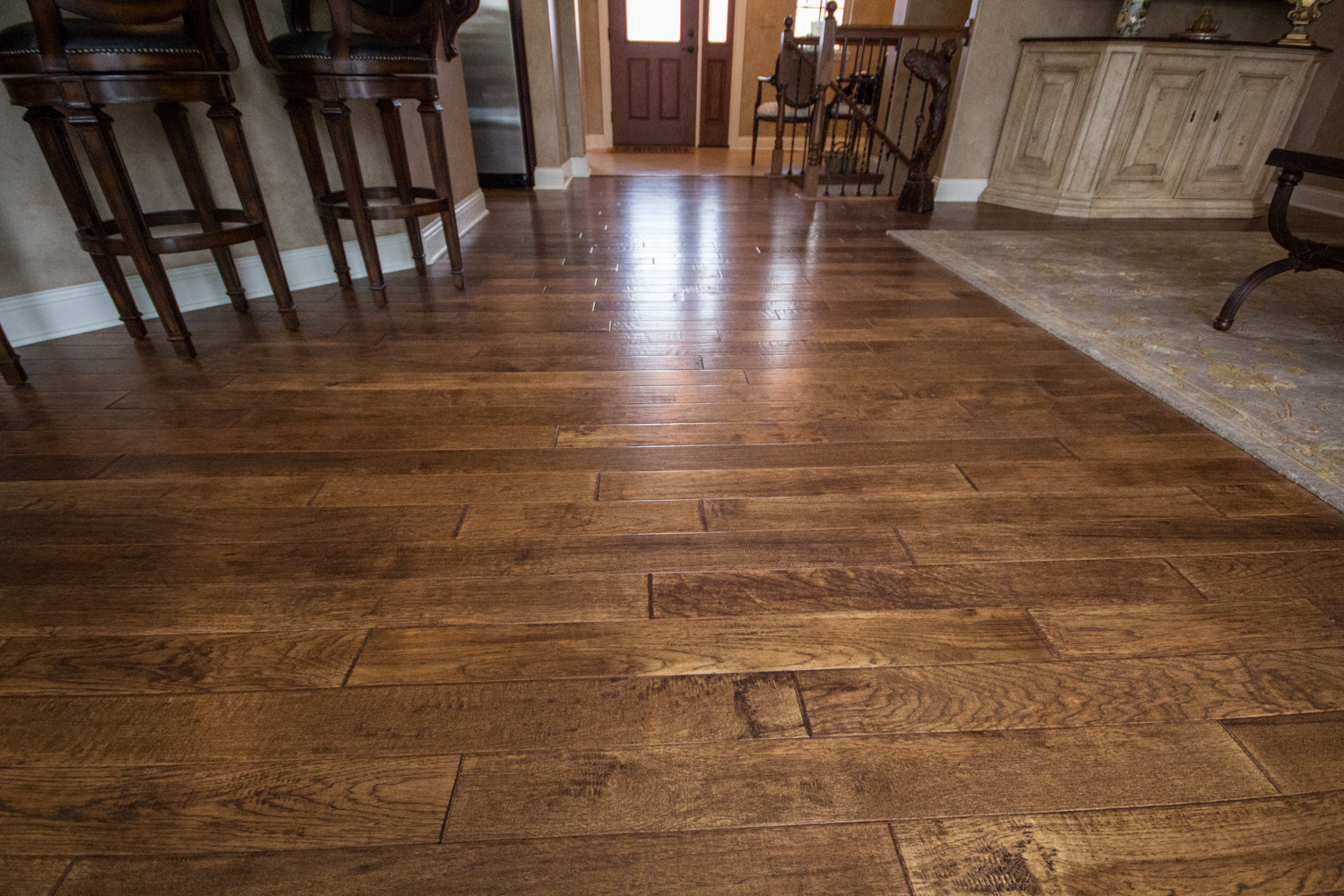 Klm builders inc quick review on flooring options for for Homes with hardwood floors