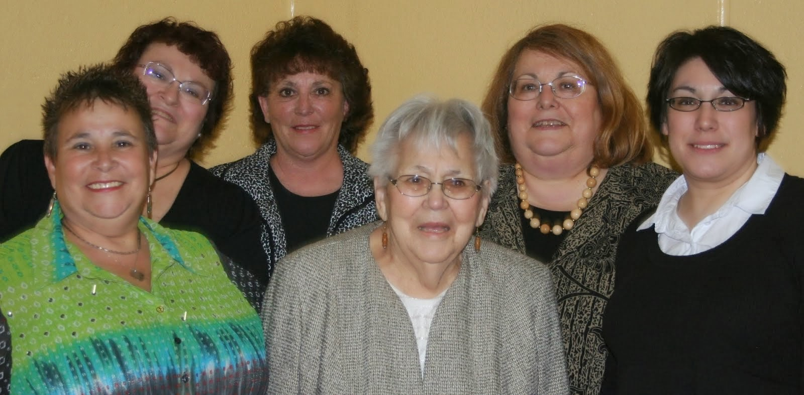 A gaggle of ladies, St. Johns, Newtonburg!