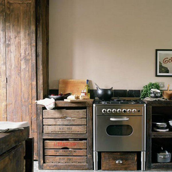 Unusual Kitchen Chairs: Moois En Liefs: Keukens Uit Hergebruikte Materialen
