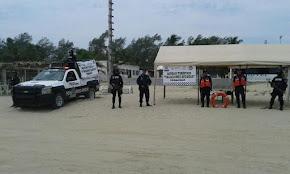 Refuerzan operativo vacacional en la zona norte