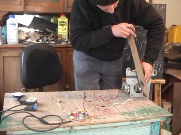 Регулятор оборотов коллекторного двигателя от стиральной