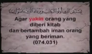 Kebenaran surat Al-Qur'an
