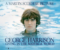Cartel del documental George Harrison: Living in the Material World