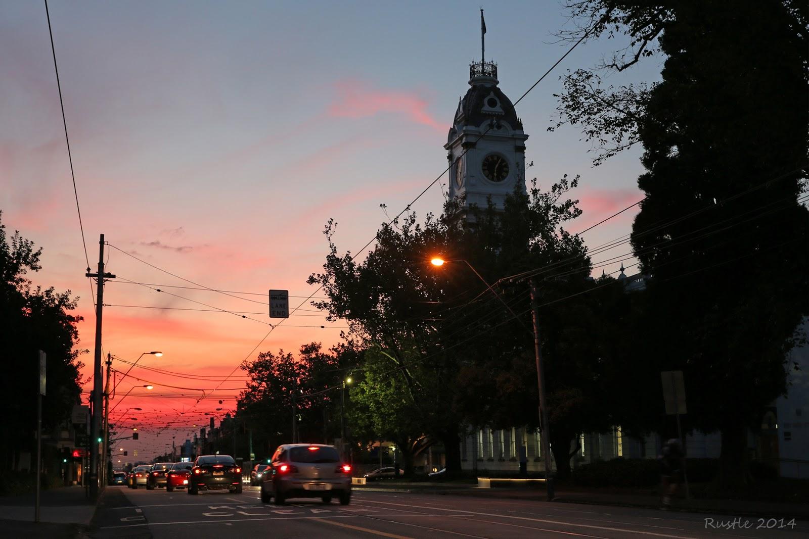 High Street Sunset