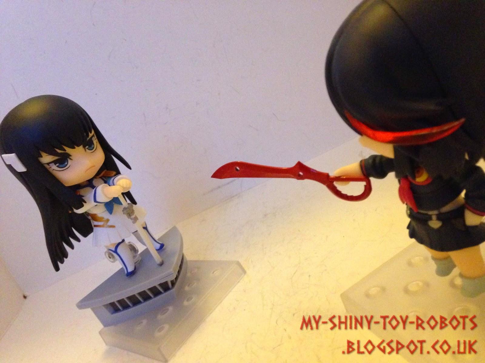 Ryuko challenges Satsuki