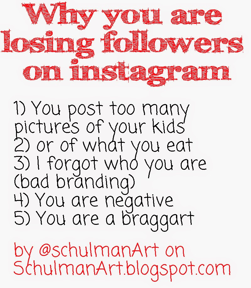 how to gain followers on instagram ( not lose them!)