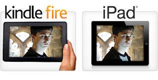 on the go-iPad and Kindle fire