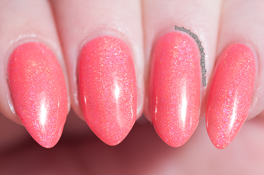 Emily de Molly Setting Sun nail polish swatch