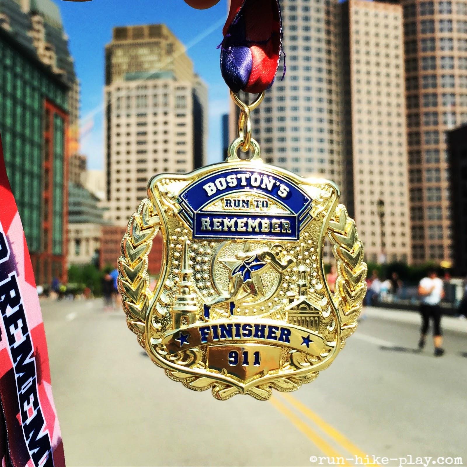 Run-Hike-Play: Boston's Run To Remember Half Marathon Race ...
