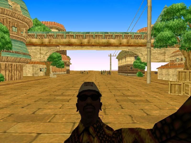 Konoha Map GTA San Andreas  Cyber Netral