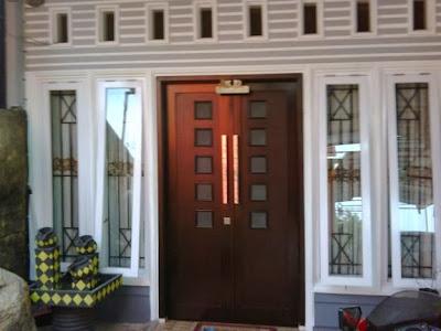 Gambar Kusen Pintu dan Kusen Jendela Minimalis