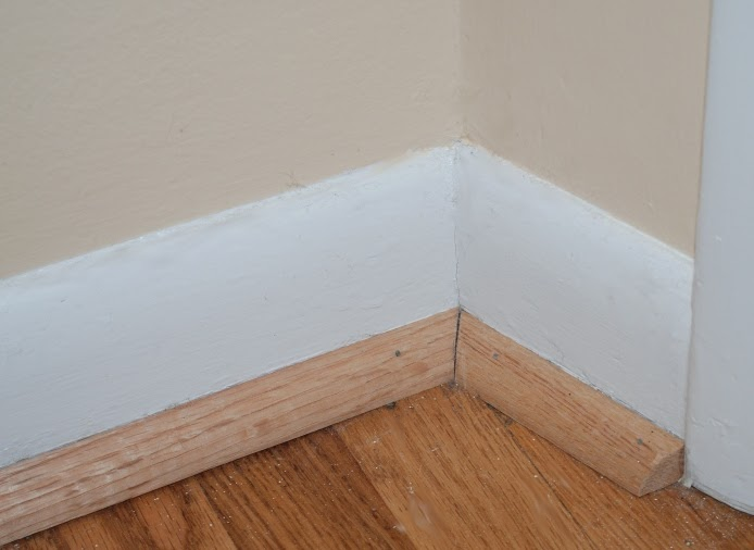 Jill factotum the mostly true story of how quarter round for Cost to paint baseboard