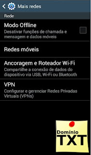 DominioTXT - Roteador Android