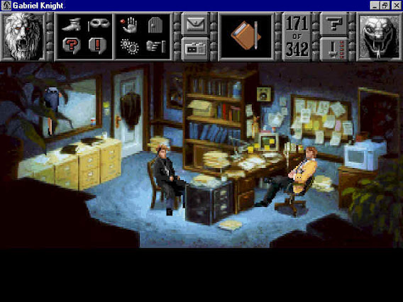 Gabriel Knight: Sins of the Fathers ScreenShot 03