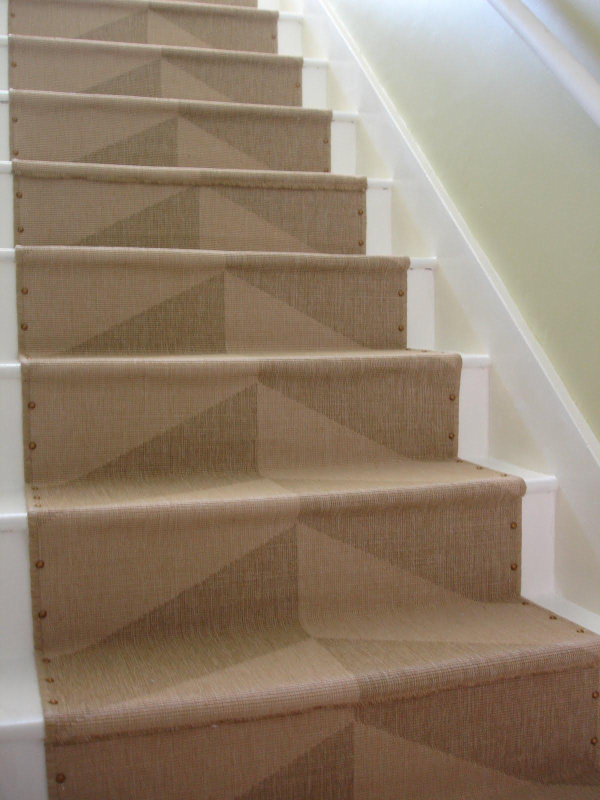 loft u0026 cottage: diy nailhead stair runner